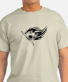 Shark with flames T-Shirt
