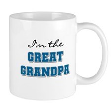 Blue Great Grandpa Mug