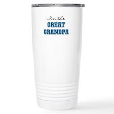 Blue Great Grandpa Travel Mug