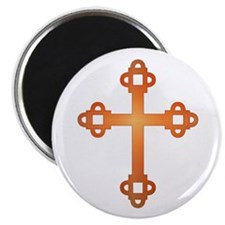 "Labyrinth Cross 2.25"" Magnet (10 pack)"
