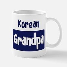 Korean grandpa Mug