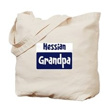 Hessian grandpa Tote Bag