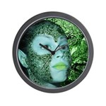Forest Pixie Wall Clock
