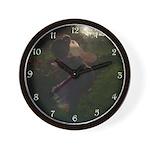 Twilight Fairy Wall Clock