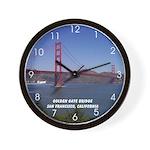San Francisco Souvenir Wall Clock