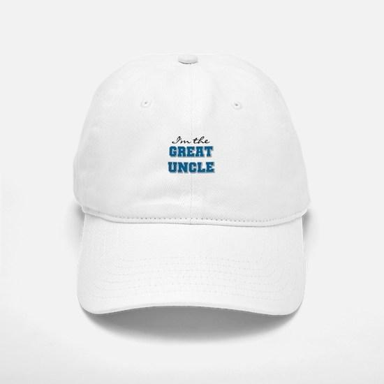 Blue Great Uncle Baseball Baseball Cap