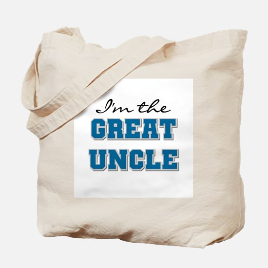 Blue Great Uncle Tote Bag