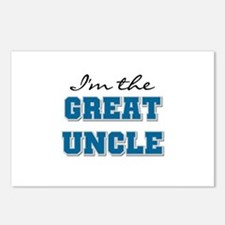 Blue Great Uncle Postcards (Package of 8)