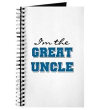 Blue Great Uncle Journal