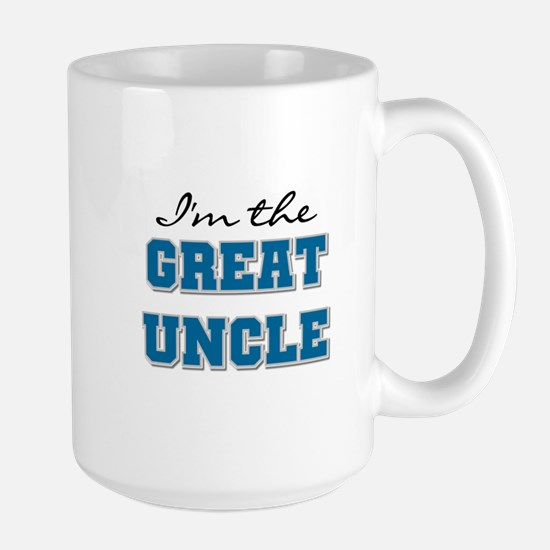 Blue Great Uncle Large Mug