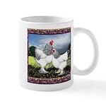 Framed Brahma Chickens Mug
