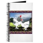 Framed Brahma Chickens Journal