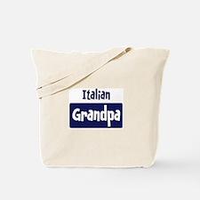 Italian grandpa Tote Bag
