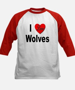 I Love Wolves (Front) Tee