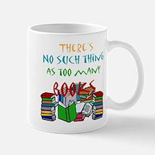Too Many Books... Mug