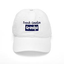 French Canadian grandpa Baseball Baseball Cap