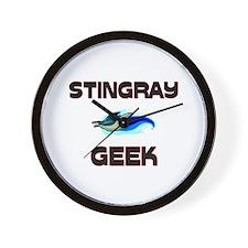Stingray Geek Wall Clock