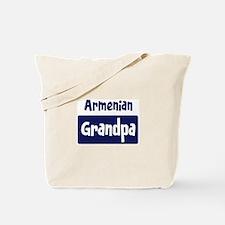 Armenian grandpa Tote Bag
