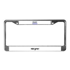 MIND GAMES2 License Plate Frame