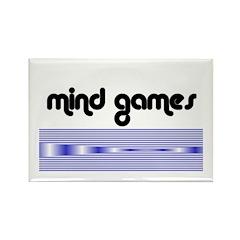 MIND GAMES2 Rectangle Magnet (10 pack)