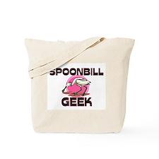 Spoonbill Geek Tote Bag