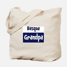 Basque grandpa Tote Bag