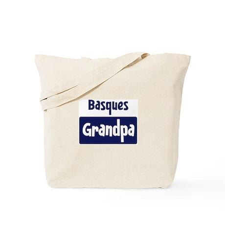 Basques grandpa Tote Bag