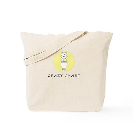Crazy Smart Tote Bag