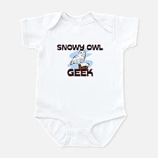 Snowy Owl Geek Infant Bodysuit