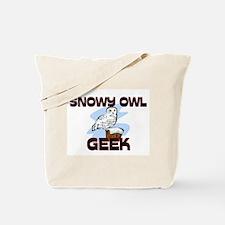 Snowy Owl Geek Tote Bag