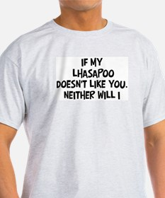 Lhasapoo like you T-Shirt