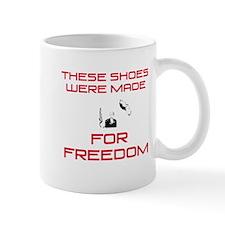Bush Freedom Shoes Mug