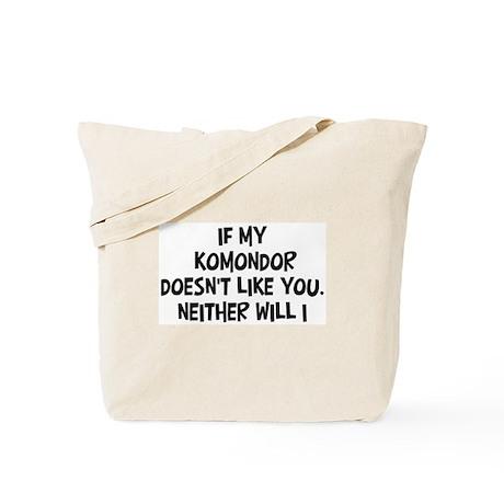 Komondor like you Tote Bag