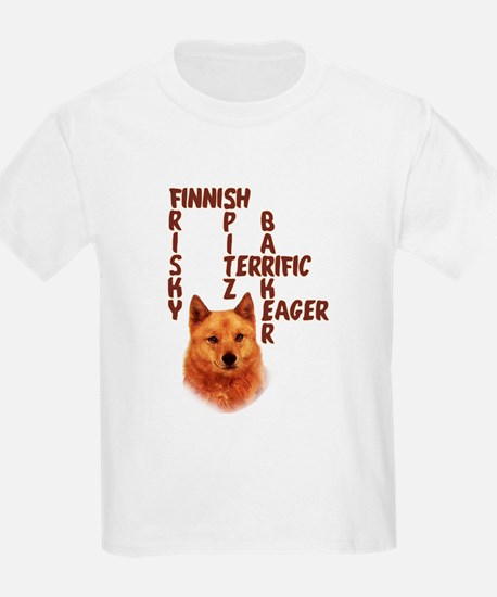 Finnish Spitz crossword T-Shirt