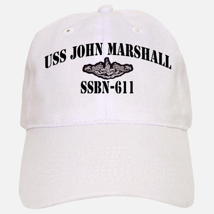USS JOHN MARSHALL Baseball Baseball Cap