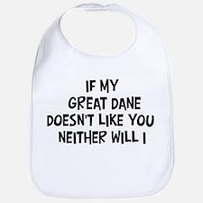 Great Dane like you Bib