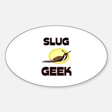 Slug Geek Oval Decal