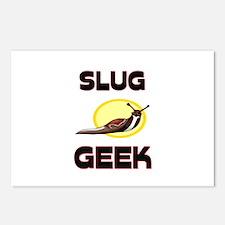 Slug Geek Postcards (Package of 8)