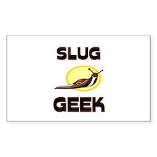 Slug Geek Rectangle Decal