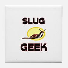 Slug Geek Tile Coaster