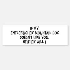 Entlebucher Mountain Dog like Bumper Bumper Bumper Sticker
