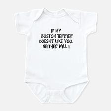 Boston Terrier like you Infant Bodysuit