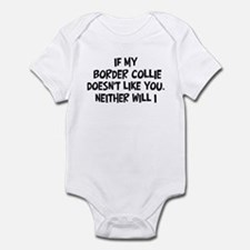 Border Collie like you Infant Bodysuit