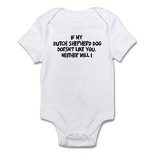 Dutch Shepherd Dog like you Infant Bodysuit