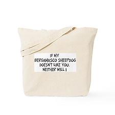 Bergamasco Sheepdog like you Tote Bag