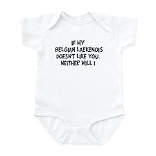 Belgian Laekenois like you Infant Bodysuit
