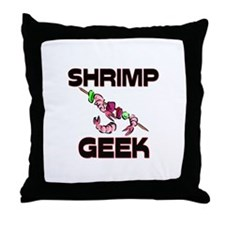 Siberian Tiger Geek Throw Pillow