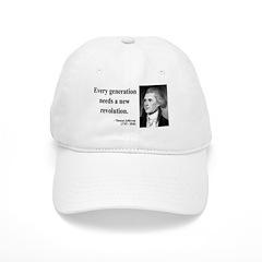 Thomas Jefferson 17 Baseball Cap