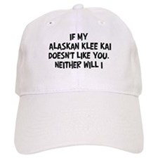 Alaskan Klee Kai like you Baseball Cap