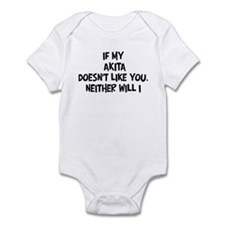 Akita like you Infant Bodysuit